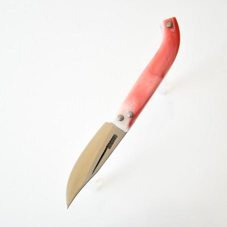 Av ve Cep Çakısı 18 cm ( Koç Boynuzu - Paslanır ) Sarı