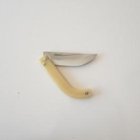 Tapan Av Bıçağı Pro ( Koç Boynuzu - Yay Çeliği ) 25 cm Bal Sarısı