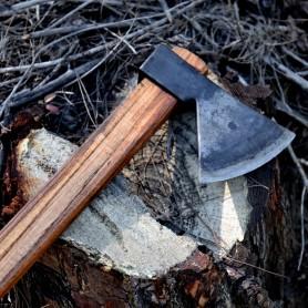 Tapan Av & Çoban Bıçağı 22,5 cm Yay Çeliği Yeşil Kahve