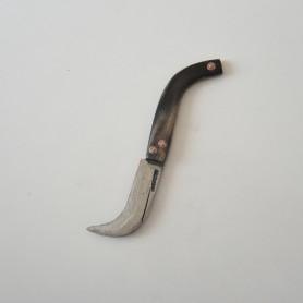Tapan Çakı Bıçak Kılıfı 12-17 cm Uyumlu Vegatel deri ( Siyah )