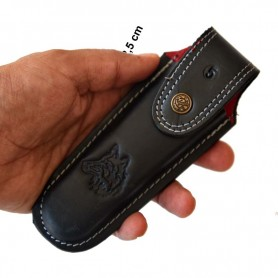 Tapan Av & Çoban Bıçağı 23 cm Yay Çeliği Ala Kahve