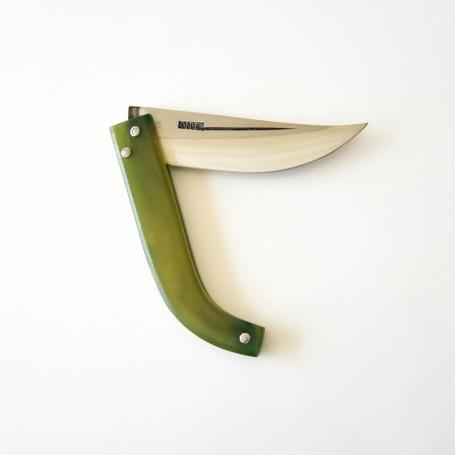 Aşı ve Av Bıçağı Ters Pro ( Yay Çeliği- Koç Boynuzu )19-21 cm